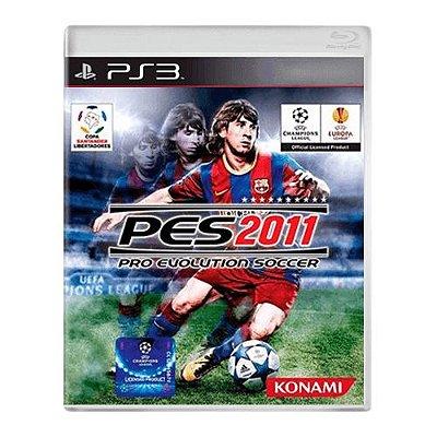 Jogo PES 2011 - PS3 Seminovo