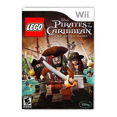 Jogo LEGO Pirates of the Caribbean PAL - Wii (Seminovo)