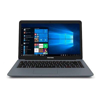 "Notebook Positivo SIM Intel I3-2310M RAM 4GB SSD 120GB LED 14"" Seminovo"