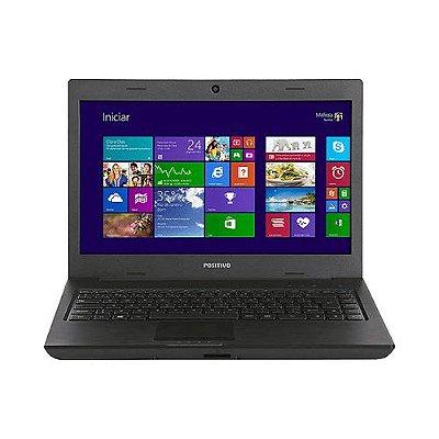 "Notebook Positivo Sim 1565M AMD Radeon C60 RAM 4GB HD 500GB LED 14"" Seminovo"