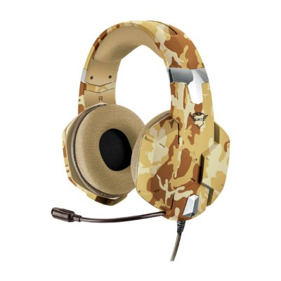 Headset Trust GXT 322D Carus Desert Camo - PS4 / Xbox One / Switch / PC