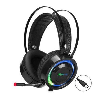 Headset Xtrike Me Solid GH708 RGB USB - PC/ Celular/ Console