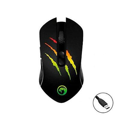 Mouse Gamer Marvo Scorpion Solid M425G RGB