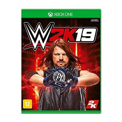 Jogo WWE 2K19 - Xbox One Seminovo