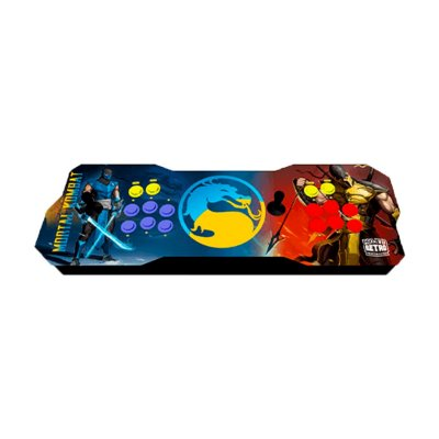 Console Fliperama Raspberry Duplo Mortal Kombat + 10 mil Jogos