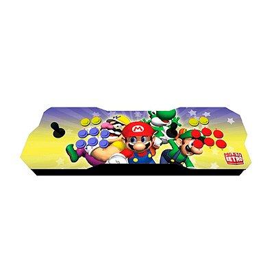 Console Fliperama Raspberry Duplo Super Mário + 8 mil Jogos