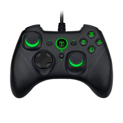 Controle USB T-TGP501 T-Dagger Solid Taurus - PC/ PS3/ Switch