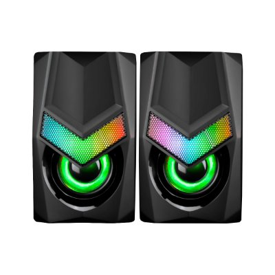 Caixa de Som Marvo Solid SG118 RGB USB - PC/ Laptop