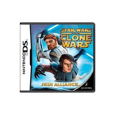 Jogo Star Wars The Clone Wars - DS (Seminovo)