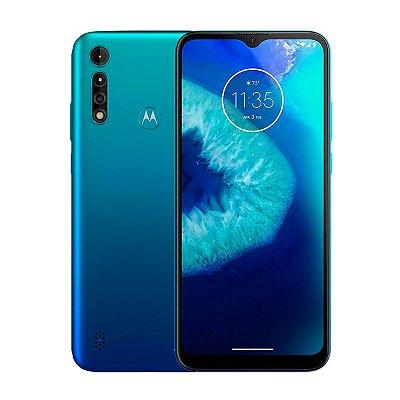 Smartphone Motorola Moto G8 Power Lite 64GB 4GB Turquesa