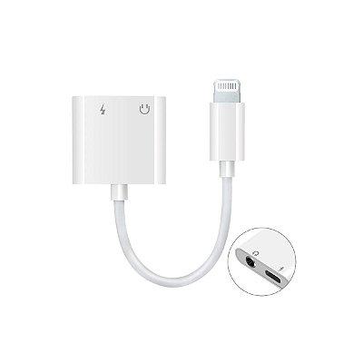 Adaptador Lightning iPhone P2 3.5mm + USB