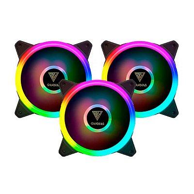 Kit Trio Cooler Gamdias Solid Aeolus M2 Lite RGB
