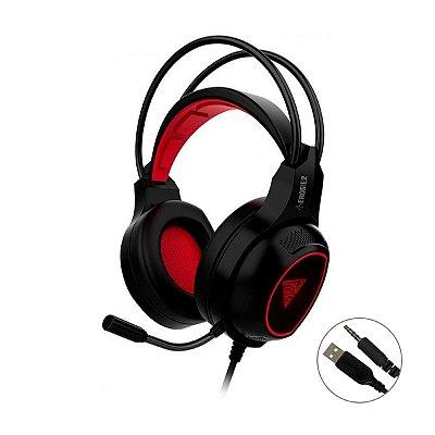 Headset Gamdias Solid Eros E2 LED - PC / PS4 / Xbox One / VR / Mobile