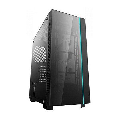 Gabinete Gamer Deepcool Solid Matrexx 55 V3 Preto Sem Fonte