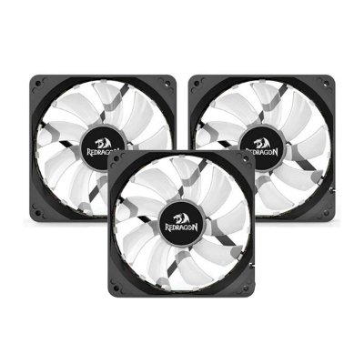 Kit Trio Cooler Redragon Solid GC F006 RGB