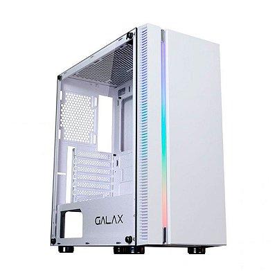 Gabinete Gamer Galax Solid Quasar GX600 Branco (Sem Fonte)
