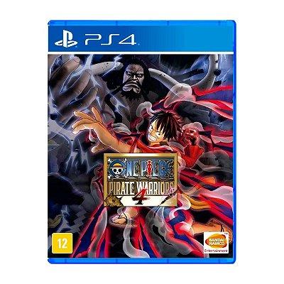 Jogo One Piece Pirate Warriors 4 - PS4
