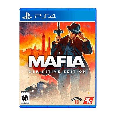 Jogo Mafia Definitive Edition - PS4