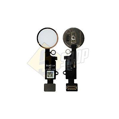 Pç Apple Flex Home iPhone 7 Plus Branco (Com Botão)