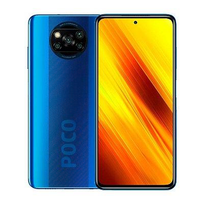 Smartphone Poco X3 128GB 6GB 4K Azul