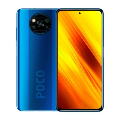 Smartphone Poco X3 64GB 6GB 4K Azul