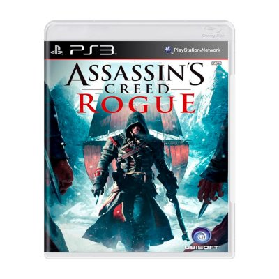 Jogo Assassins Creed Rogue - PS3 (Seminovo)