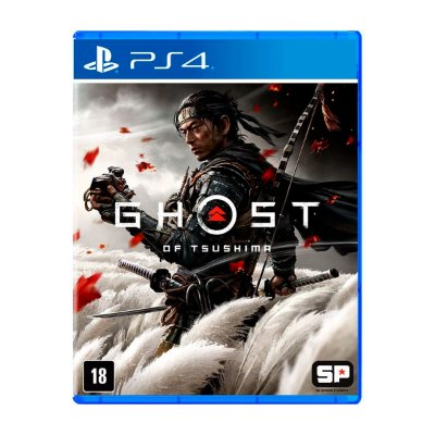 Jogo Ghost of Tsushima - PS4 Seminovo