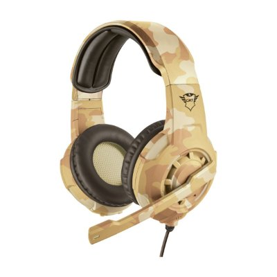 Headset Trust GXT 310D Radius Gaming Desert Camo - PS4 / PS5 / Xbox One / Switch / PC / Celular