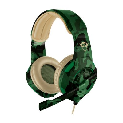Headset Trust GXT 310C Radius Gaming Jungle Camo - PS4 / PS5 / Xbox One / Switch / PC / Celular