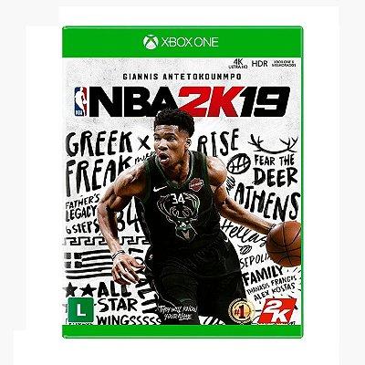 Jogo NBA 2K19 - Xbox One Seminovo