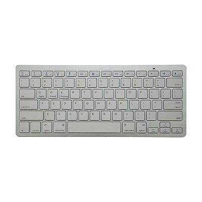 Teclado Wireless Keyboard Bluetooth Smartphone Tablet TV C1