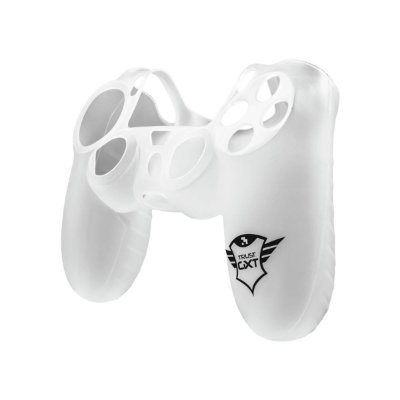 Capa Silicone Controle Trust GXT 744T Transparente - PS4