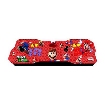 Console Fliperama Raspberry Duplo Mário + 10 mil Jogos