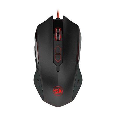 Mouse Gamer Redragon Solid Inquisitor 2 6 Botões Preto