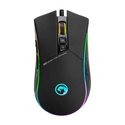 Mouse Gamer Marvo Scorpion Solid M513 Preto RGB