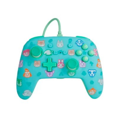 Controle Com Fio Animal Crossing - Switch