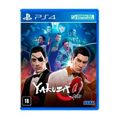 Jogo Yakuza 0 - PS4 Seminovo