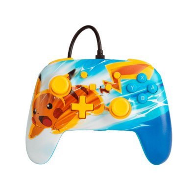 Controle Com Fio Power A Wired Pikachu Charge - Switch