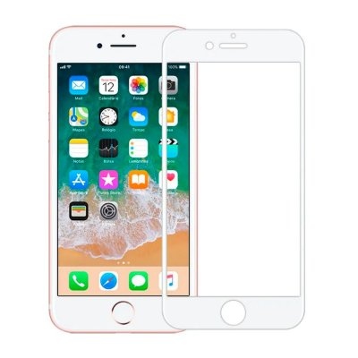 Película 3D iPhone 7 / 8 Plus Branco