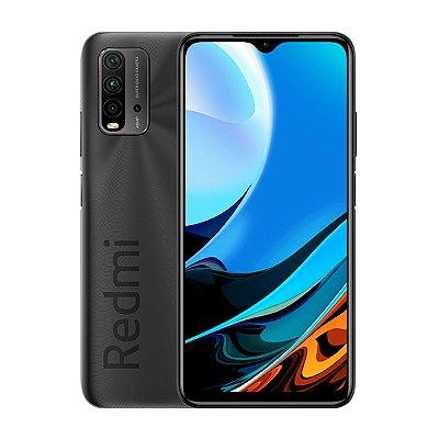 Smartphone Xiaomi Redmi 9T 64GB 4GB Cinza