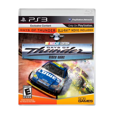 Jogo Days Of Thunder + Filme PS3 (Seminovo)