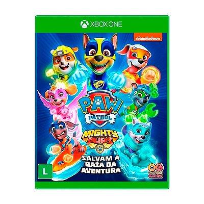 Jogo Patrulha Canina Super filhotes Salvam a Baía da Aventura - Xbox One