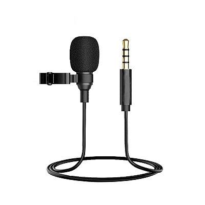 Microfone Lapela Lavalier P2 3.5 C1N