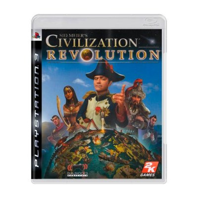 Jogo Sid Meier's Revolution - PS3 (Seminovo)