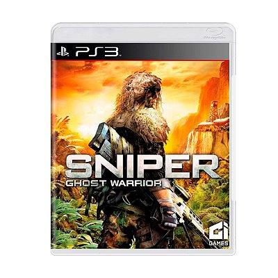 Jogo Sniper Ghost Warrior - PS3
