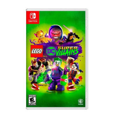 Jogo LEGO DC Super Villains - Switch (Seminovo)
