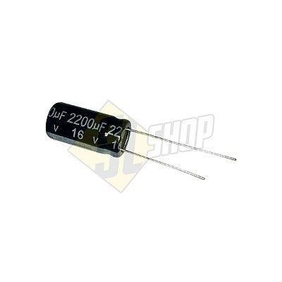 Pç Capacitor Eletrolítico 2200uF 16v