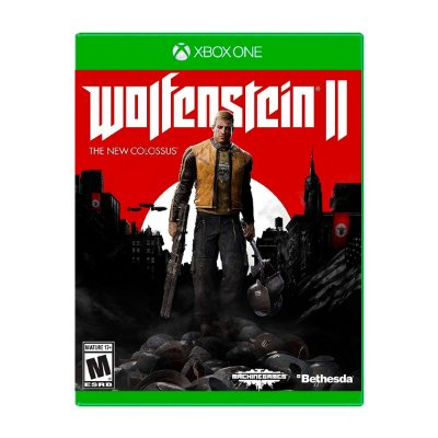 Jogo Wolfenstein II The New Colossus  - Xbox One (Seminovo)