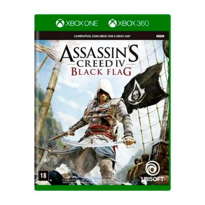 Jogo AssassinS Creed IV Black Flag - Xbox 360 / Xbox One (Seminovo)