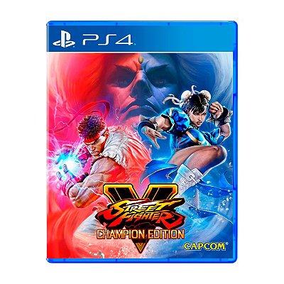 Jogo Street Fighter V Champion Edition - PS4 (Seminovo)